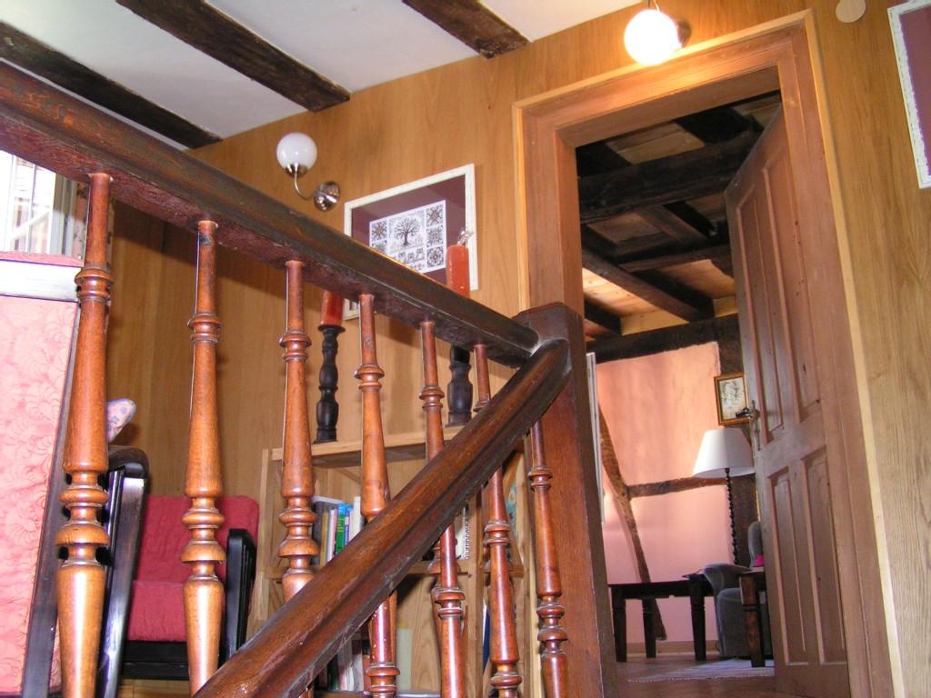 Treppe vom Zwischengeschoß in den 1. Stock