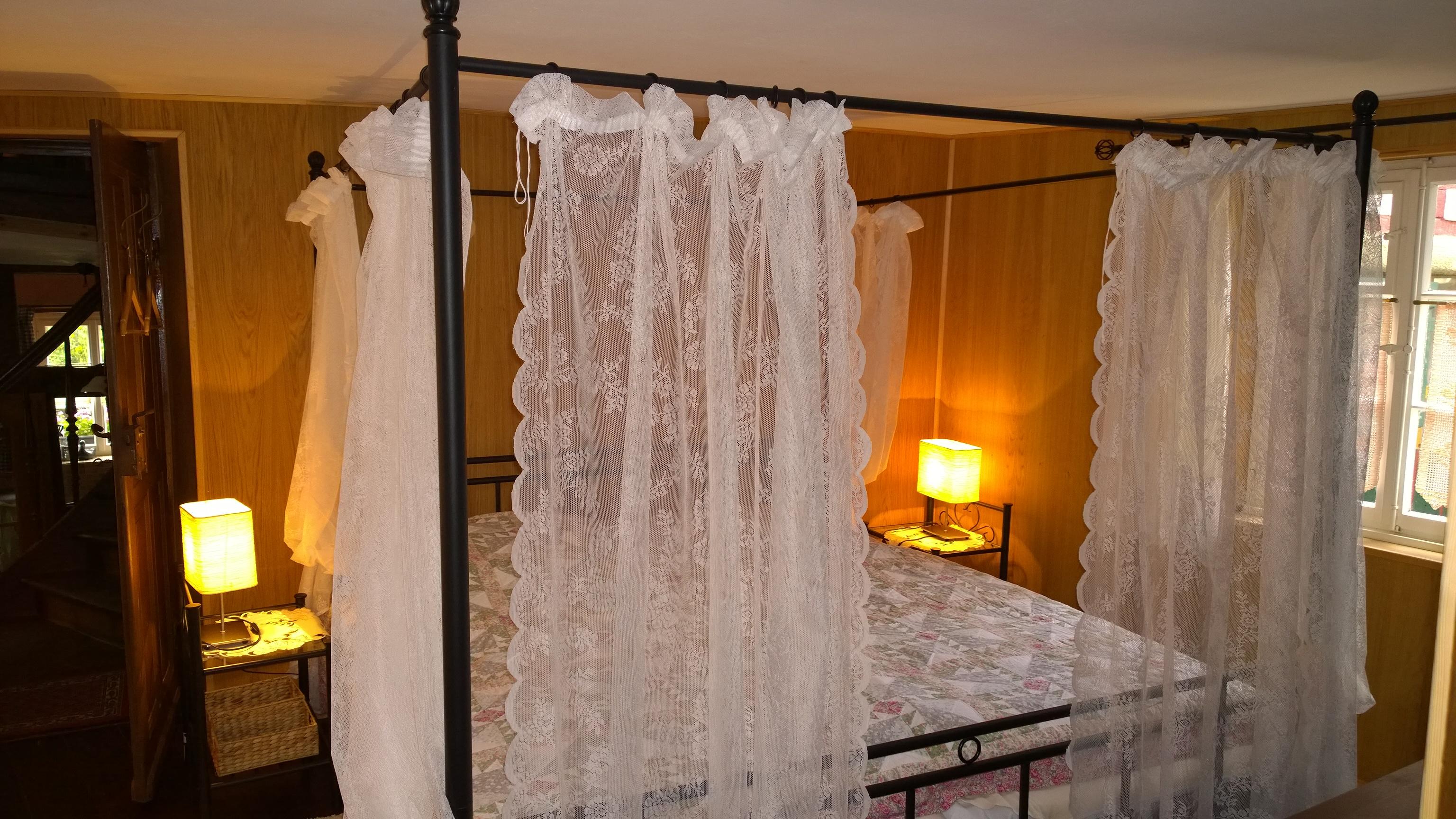 Schlafzimmer 1 im Zwischengeschoß
